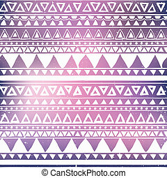 Aztec Tribal Seamless Pattern