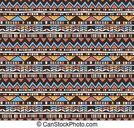 Aztec vector pattern.