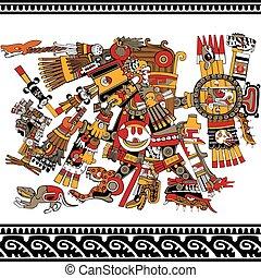 azteco, dio, antico