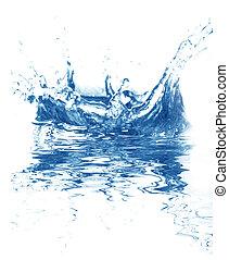 azul, água fresca