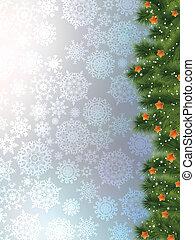 azul, árvore, eps, experiência., ramo, 8, natal