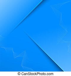 azul, abstratos, cor, fundo, 3d
