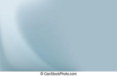 azul, abstratos, folds., experiência., delicado, cortina, seda, cetim