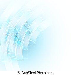 azul, abstratos, formas, fundo, fluir, transparente