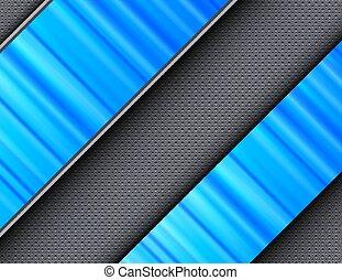 azul, abstratos, fundo