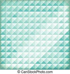azul, abstratos, fundo, polígono, vetorial