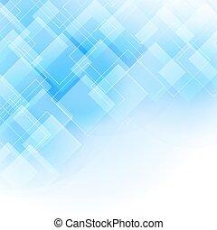 azul, abstratos, fundo, rhombus