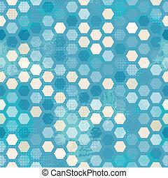 azul, abstratos, grunge, celas, seamless