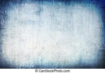 azul, abstratos, grunge, fundo
