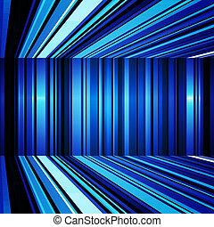 azul, abstratos, listras, deformado, fundo, branca