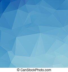 azul, abstratos, polígono, textura