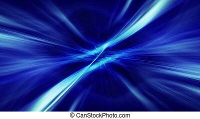azul acende, volta, fundo