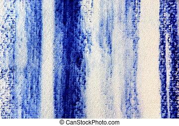 azul, acuarela, 1, diseño