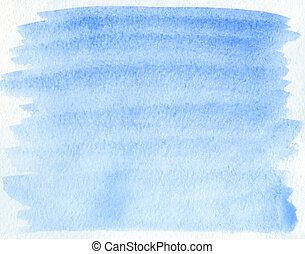azul, acuarela, Extracto, Plano de fondo