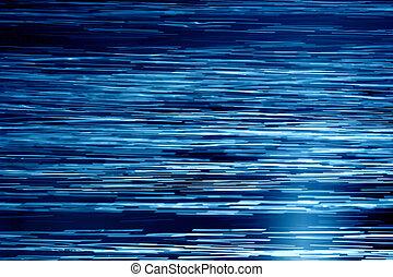 azul, aguas, horizontal