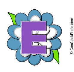 azul, alfabeto, flor, mercado de zurique, alfinete