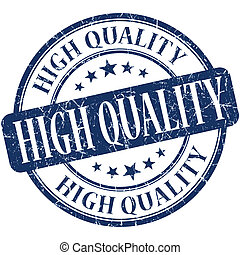 azul, alto, estampilla, vendimia, caucho, grungy, calidad, ...