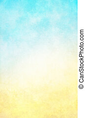 azul, amarela, hi-key, fundo