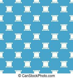 azul, antigas, padrão, seamless, scroll, vetorial, pergaminho