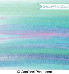 azul, aquarela, abstratos, fundo