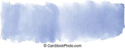 azul, aquarela, bandeira