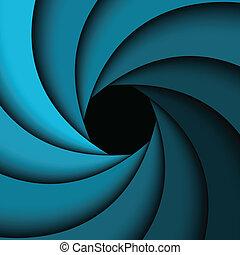 azul, arco íris, abstratos, fundo, redemoinho