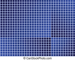 azul, azulejos, papel parede, -, seamless