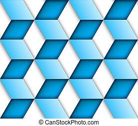 azul, backgroun, seamless, azulejo, vetorial