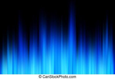 azul, borrão