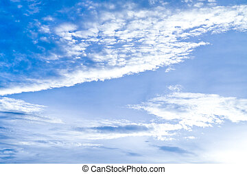 azul, céu claro