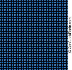 azul, círculo, azulejo mosaico, seamless, textura, padrão, fundo, em, tecnologia, concept., 3d, ponto, illustration.