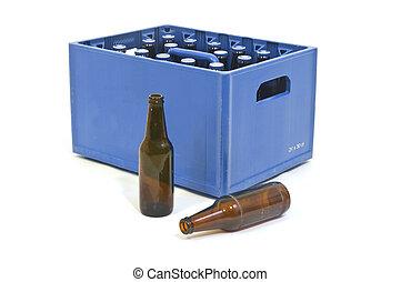 azul, cajón