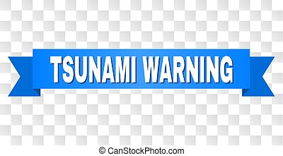 azul, caption, tsunami, aviso, fita