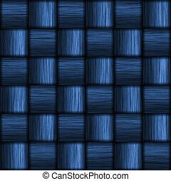 azul, carbón, fibra