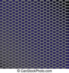 azul, carbono, fibra, vetorial