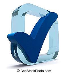 azul, carrapato, mostra, qualidade, e, excelência