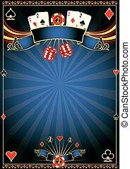 azul, casino