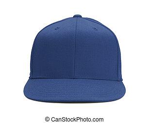 azul, chapéu beisebol