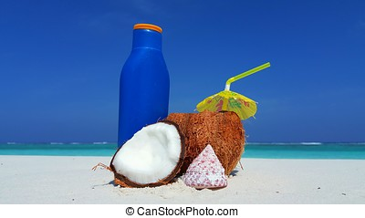 azul, coco, maldives, ilha, ensolarado, oceânicos, tropicais, aqua, mar, paraisos , praia branca, arenoso, céu