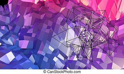 azul, colors., gradiente, abstratos, modernos, superfície, ...