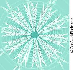 azul, contrastar, estrela, luz, forma, fundo, baixo