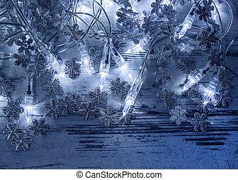 Decoraci Ef Bf Bdn De Navidad Blanca Y Plata