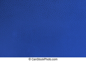 azul, couro, close-up, textura