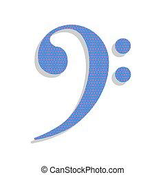 azul, cubo, illustration., ciclamino, letrero de gas de neón, pol, vector., icono