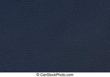 azul, cuero, real, textura, plano de fondo