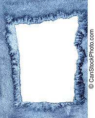 azul, denim, semelhante, borda