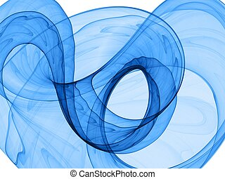 azul, dinâmico, fundo