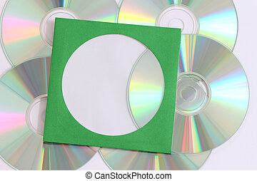azul, dvd, disco del cd, rayo