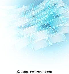 azul, editable, abstratos, shapes., linhas, vetorial, fundo, transparente