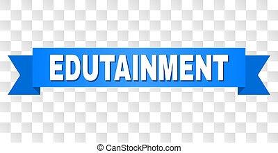 azul, edutainment, cinta, título